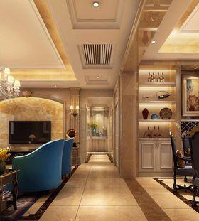 140平米四欧式风格走廊设计图