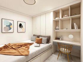 100平米三現代簡約風格書房圖片