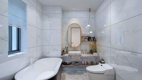 80平米法式风格卫生间装修案例