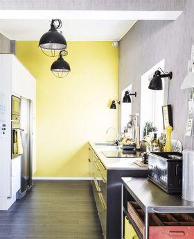 90平米复式北欧风格厨房效果图