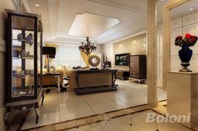 140平米四室兩廳歐式風格客廳設計圖