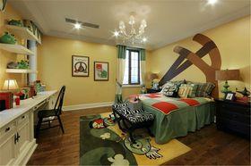 140平米四室三厅法式风格儿童房图