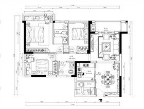 130平米三室三厅欧式风格其他区域图片