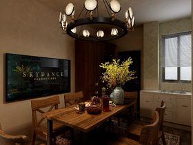 50平米美式风格餐厅效果图