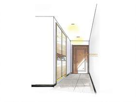 110平米三室两厅中式风格玄关装修案例