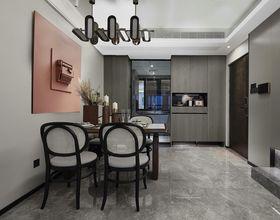 120平米四室两厅现代简约风格餐厅图片大全