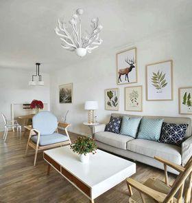 90平米北欧风格客厅装修效果图