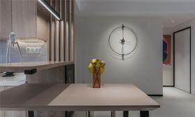 80平米現代簡約風格餐廳設計圖