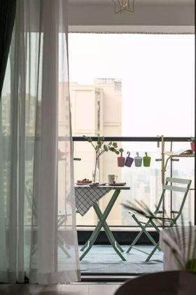 80平米北欧风格阳台欣赏图