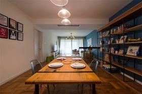 140平米三室三厅田园风格餐厅装修案例