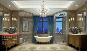 140平米别墅法式风格卫生间图片大全