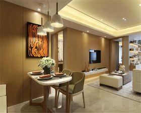 15-20万90平米三室两厅现代简约风格餐厅欣赏图