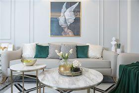 140平米三法式风格客厅设计图