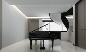 豪华型140平米四室四厅现代简约风格影音室图片