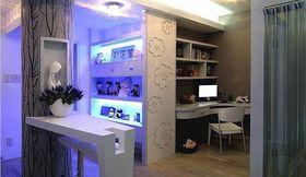 富裕型140平米三室两厅现代简约风格卧室装修图片大全