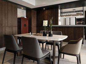 富裕型80平米现代简约风格餐厅效果图