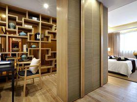 富裕型100平米中式风格卧室图片大全