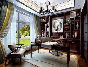 140平米別墅美式風格書房圖片大全