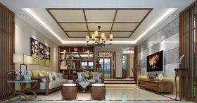 140平米别墅东南亚风格客厅装修效果图