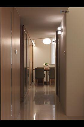5-10万50平米小户型日式风格走廊装修案例