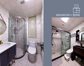 100平米三室两厅北欧风格卫生间图片大全