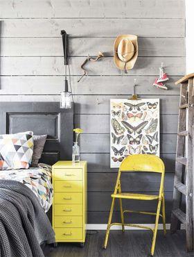90平米复式北欧风格卧室欣赏图