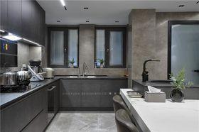 140平米四室兩廳現代簡約風格廚房效果圖