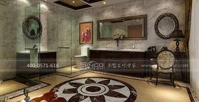 豪华型140平米别墅混搭风格卫生间效果图