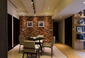 经济型90平米三室一厅混搭风格餐厅设计图