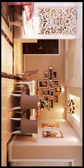 130平米三室两厅欧式风格餐厅图片