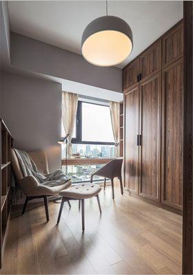 90平米一室一厅现代简约风格阳台图片
