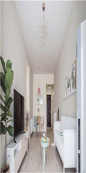 50平米公寓现代简约风格客厅图片大全