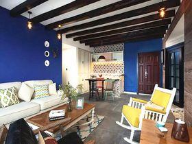 10-15万110平米三室两厅混搭风格客厅装修效果图
