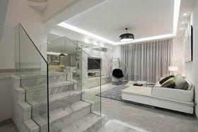 5-10万130平米复式现代简约风格楼梯图片大全