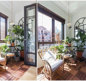 120平米三室一厅混搭风格阳台装修案例