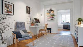经济型100平米三室两厅现代简约风格其他区域图片大全