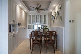 70平米三室两厅美式风格餐厅设计图