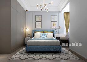 110平米三美式風格臥室裝修效果圖