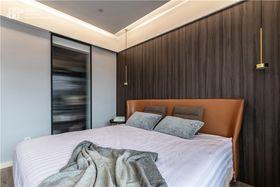 130平米三现代简约风格卧室效果图