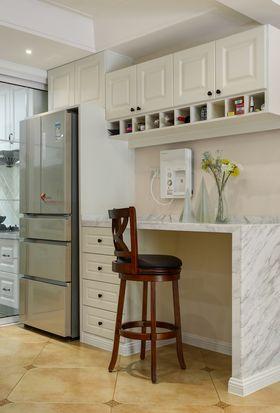 140平米复式美式风格厨房欣赏图