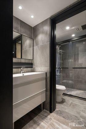 90平米现代简约风格卫生间设计图