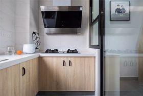 90平米三室一廳現代簡約風格廚房圖片
