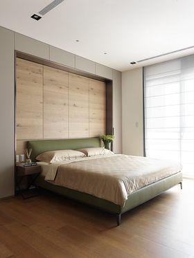 5-10万80平米三室两厅法式风格卧室装修效果图