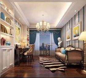 140平米四室一厅欧式风格书房装修图片大全