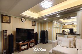 豪华型140平米别墅新古典风格影音室装修图片大全
