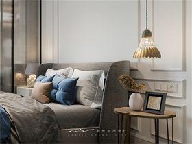 90平米三室三厅美式风格卧室设计图