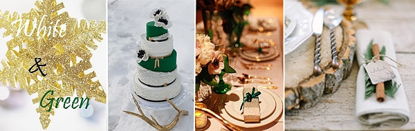 人气最高的冬季婚礼色彩搭配 马起来!