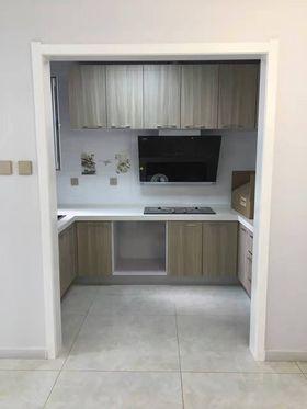 100平米三室一厅现代简约风格厨房图片大全