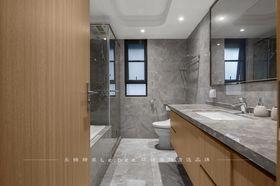 140平米三室两厅中式风格卫生间装修案例