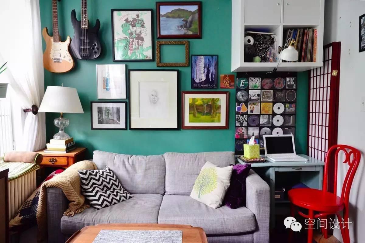 琳琅满目的二手货打造的复古微型公寓,温馨得不要不要了!